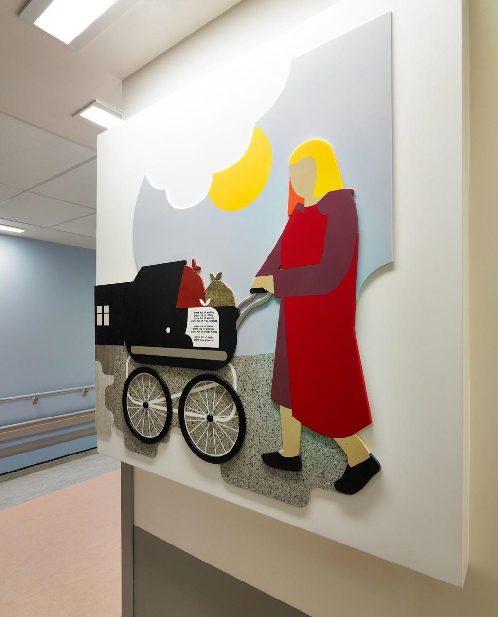 Акриловый камень DuPont Corian в интерьере больницы