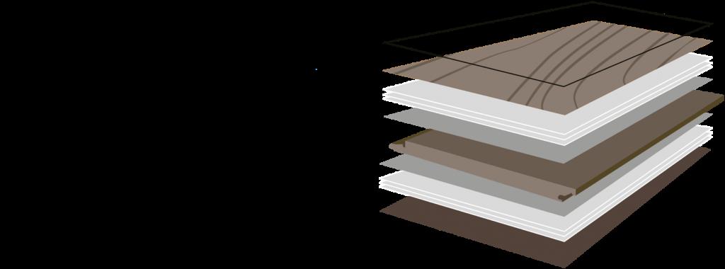 Состав HPL-ламината для напольных решений Parqcolor